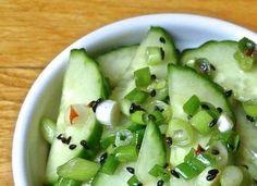 Easy Quick Pickled Cucumber Salad
