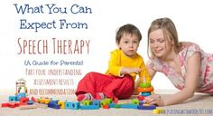What to Expect from Speech Therapy Stock part four - Pinned by @PediaStaff – Please Visit  ht.ly/63sNt for all our pediatric therapy pins