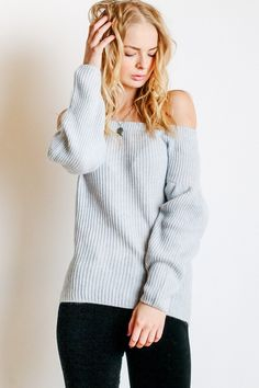Rebecca Minkoff Lottie Sweater in Heather Grey