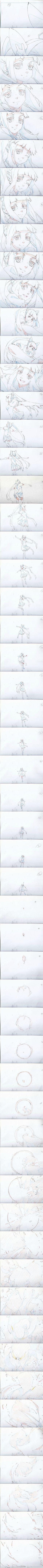 由工作室原画师@小巍TT 绘制的《撸时代...
