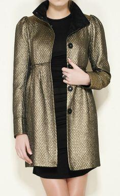 Metallic Bronze Coat