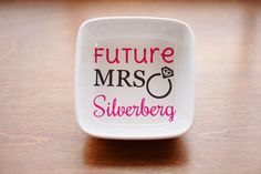 engagement ring dishes | by Lukin For Love