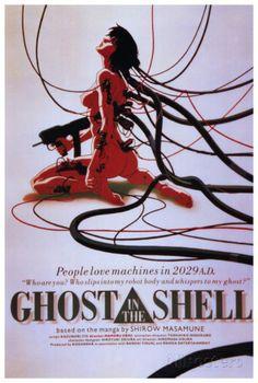 GHOST IN THE SHELL攻殻機動隊 - インターナショナル・ヴァージョン ポスター