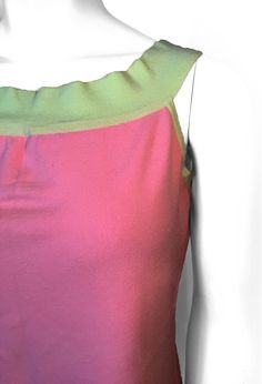 Esti Women Green and Pink Top -- Size XL #Esti #Blouse #Casual Shirt Blouses, Shirts, Pink Tops, Drawstring Backpack, Best Deals, Casual, Green, Bags, Fashion