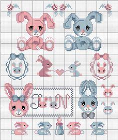 Schema gratuito uno storia di coniglietti