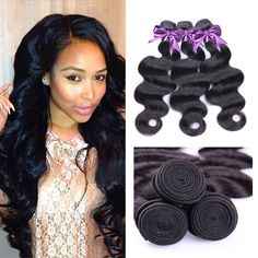 IUEENLY Hair Peruvian Virgin Hair Body Wave 3 Bundles Grade 7A Unprocessed Human Weave Weft Mixed Length Natural Black Total 300g 24 26 26 *** This is an Amazon Affiliate link. Read more reviews of the product by visiting the link on the image.