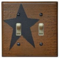 Home Decor - Country Switchplate Covers - Country Decor, Primitive Decor, Bedding, Braided Rugs