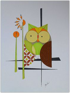 My Owl Barn: Colby and Friends: Mid Century Paintings