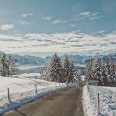 #allgäu #winter panorama