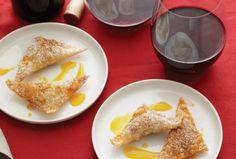 Moroccan Chicken-Filled Brik
