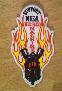 Hells Angels Mesa 81 Support Patch