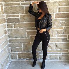 "Claudia Tihan on Instagram: "": @shevoke,: @blvckd0pe.clothing"""