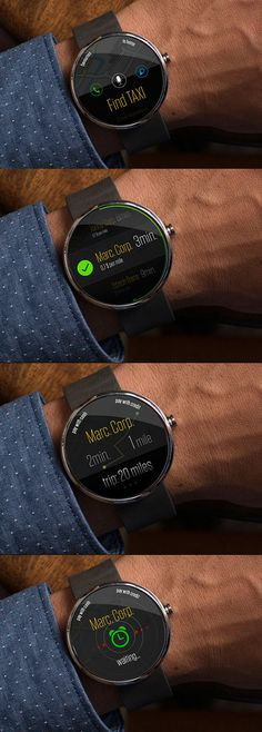Moto360 Find Taxi