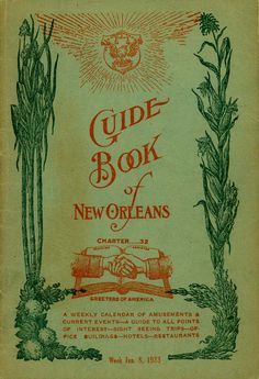 Guide Book of New Orleans, 1923