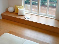 Home Room Design, House Design, Home Decor Furniture, Furniture Design, Tatami Room, Built In Seating, Minimalist Home Interior, House Rooms, Interior Design Living Room