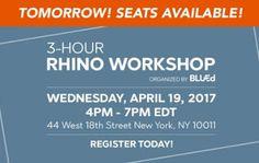 Rhino News, etc.: Rhino Workshop in NYC, April 19