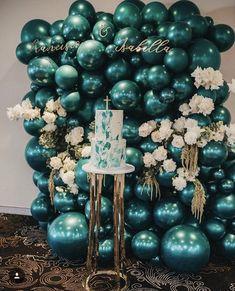 Green Party Decorations, Birthday Balloon Decorations, Birthday Balloons, Baby Shower Decorations, Wedding Decorations, Balloon Backdrop, Balloon Wall, Balloon Garland, Balloon Columns