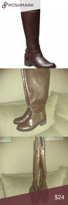 Ram-ingred tall boots Beautiful. brand new, never wore. tall with low heels. ram-ingred Shoes Heeled Boots