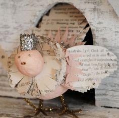 Epherma Bird - Vintage Pink
