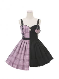 Edgy Outfits, Teen Fashion Outfits, Pretty Outfits, Pretty Dresses, Cool Outfits, Pastel Goth Fashion, Kawaii Fashion, Lolita Fashion, Cute Fashion