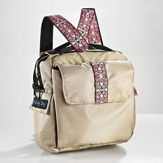 Elle Convertible Bag - versatile, lots of compartments. But looks too flimsy.