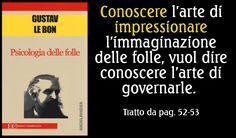 #GustaveLeBon #Psicologia delle #folle
