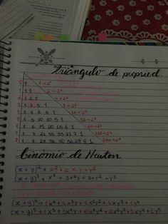 Binômios, Triângulo de propriedades, triângulo de Pascal