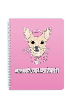 Legally Blonde Notebook ($16 at Betches) | http://www.hercampus.com/life/travel/15-notebooks-are-perfect-your-spring-break-journal