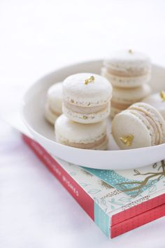 Nothing beats the delicacy of macarons. Here from cannelle et vanille