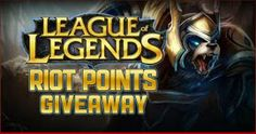 League of Legends Free Riot Points