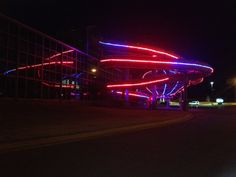 Lights! Lights! Lights! Check out the lights on the slides at the Water-Zoo Indoor Water Park in Clinton, OK. They're amazing and on every night of the year with different patterns and displays!  WOW!!