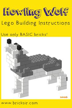 Howling Wolf lego instructions using only basic bricks, perfect for Halloween!  Download the lego instructions at appsto.re/us/WRyX6.i for iPhone and iPad. And, check out the other Halloween Lego models! We also have Scary Spiders, One-Legged Skeleton Pirate, Laughing Jack-O-Lantern, and Flying Bat. ‪#‎bricksir‬ ‪#‎lego‬ ‪#‎legos‬ ‪#‎halloween‬ ‪#‎wolf‬ ‪#‎homeschool‬ ‪#‎parents‬