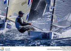 My cousin Caleb Paine  is currently 2nd overall in the latest world sailing competition! Go Caleb