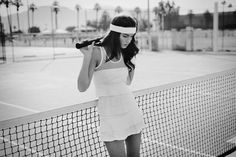 "Lija's Fall 2012 ""Shades of Grey"" tennis collection"