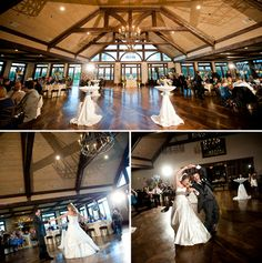 first dance - rustic wedding venue
