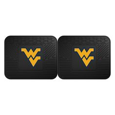 West Virginia Mountaineers NCAA Utility Mat (14x17)(2 Pack)