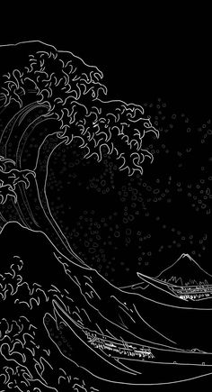 Download Japanese wave wallpaper by AndryX7 - 36 - Free on ZEDGE™ now. Browse millions of popular anime Wallpapers and Ringtones on Zedge and personalize your phone to suit you. Browse our content now and free your phone Dragon Wallpaper Iphone, Japanese Wallpaper Iphone, Dark Wallpaper Iphone, Galaxy Wallpaper, Cool Wallpaper, Wallpaper Backgrounds, Minimal Wallpaper, Black Aesthetic Wallpaper, Aesthetic Iphone Wallpaper