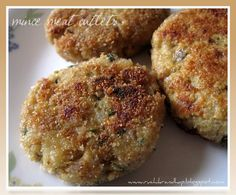 Mince meat cutlets are a staple in every Mangalorean home and can be made using minced beef, lamb or chicken. Serve them as a starter or along a meal. Indian Beef Recipes, Goan Recipes, Mince Recipes, Appetizer Recipes, Cooking Recipes, Easy Recipes, Beef Cutlets, Chicken Cutlets, Chicken Rissoles
