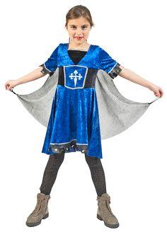 Wer keine Lust hat als #Mittelalterkostüm für Mädchen nur #Burgfräulein zu machen, der kann auch als #Ritterin gehen, denn auch weibliche #Ritter gab es zur damaligen Zeit