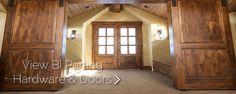 Barn Doors & Hardware @ http://rusticahardware.com/barn-door-hardware/