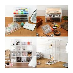 I became addicted to Muji in all its clean designs whilst working in London. Super glad to see a US online store. Acrylic Cases - Storage
