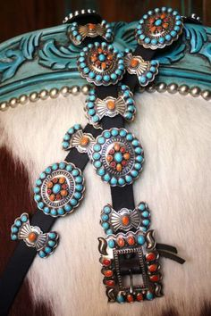 Spectacular Andy Cadman Concho Belt from Cowgirl Kim!