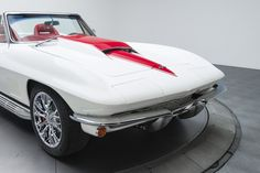 1965 Chevrolet Corvette Sting Ray White For Sale                              …