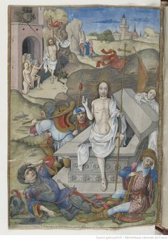The Resurrection and the Harrowing of Hell.