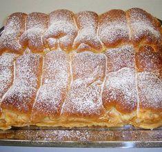 Habkönnyű túrós bukta - www.kiskegyed.hu Hungarian Cake, Hungarian Recipes, Sweet Cookies, Waffle Iron, Sweet And Salty, Hot Dog Buns, Banana Bread, Bakery, Food And Drink