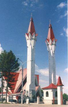 Lala Tulpan Mosque, Oufa, Republic of Bashkortostan, Russia