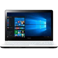 Notebook Vaio Fit 15F VJF153B0411W Intel Core i7 8GB 1TB Tela LED 15,6 Windows 10 - Branco