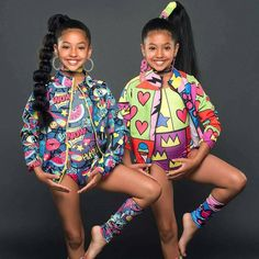These Twins Slayed! Cute Kids Fashion, Black Girl Fashion, Tween Fashion, Colorful Fashion, Womens Fashion, Cute Twins, Cute Baby Girl, Cute Mixed Babies, Cute Babies