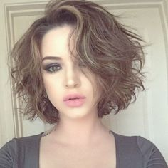 Best 46 Awesome Messy Hairstyles for Short Hair #Awesome #Hairstyles #Messy #ShortHair