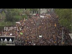 Tens of Thousands March in Catalonia Against 'Franco-Style' Repression of Spanish Govt | Common Dreams